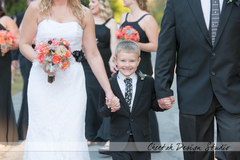 happy wedding photo
