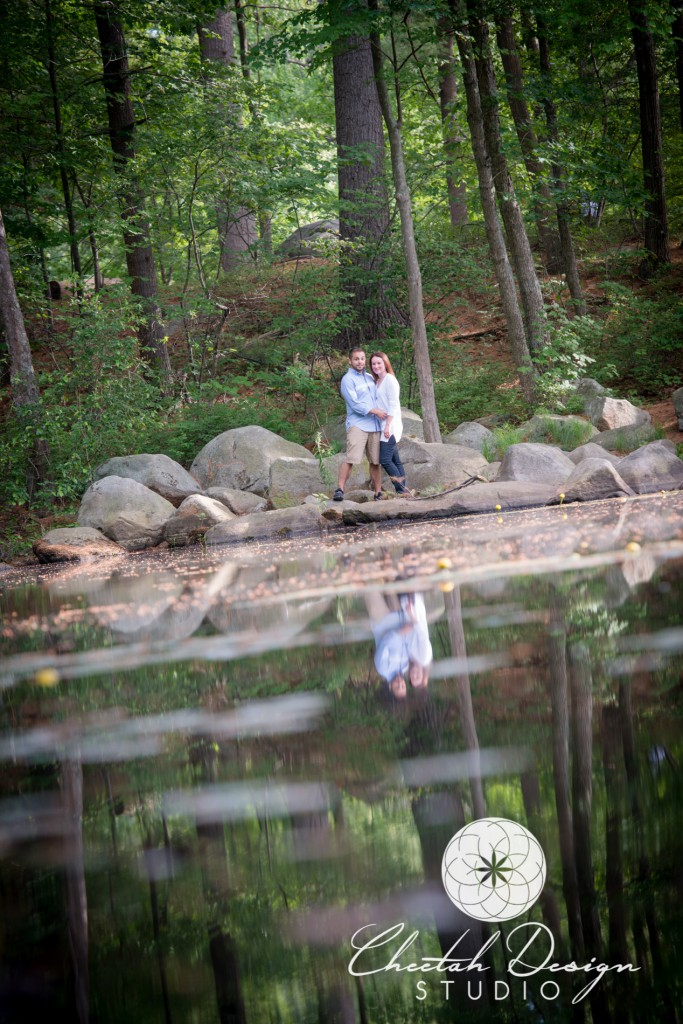 Engagement Photos, Livingston Park, Manchester NH