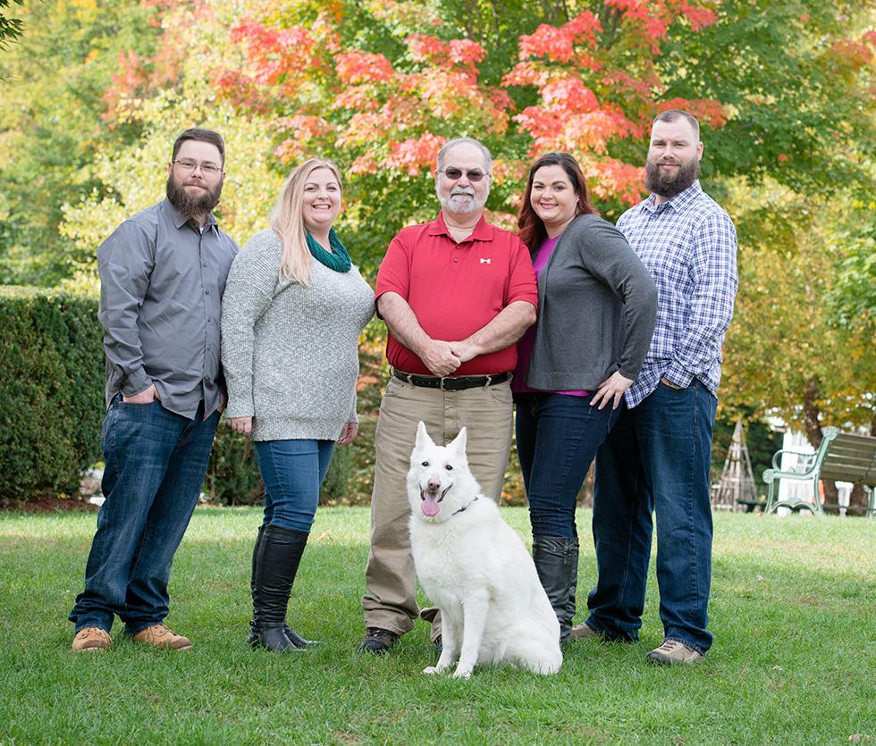 family photographer for extended family members